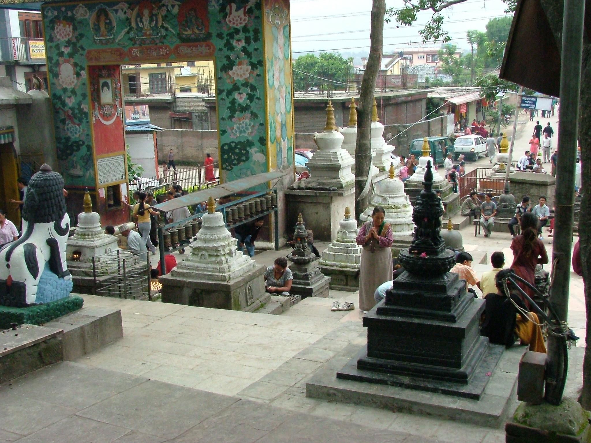 Stupa e pagode