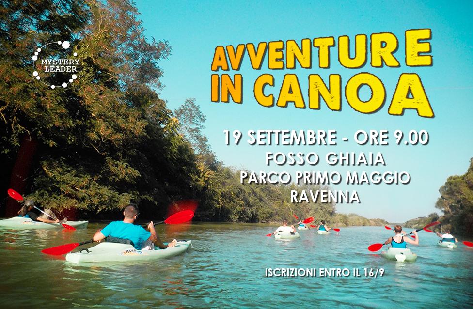 avventure in canoa 19/9